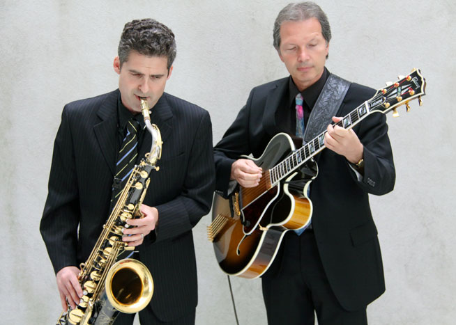 Acoustic Jazz Duo, Ernst Hardy & Beat Baumli